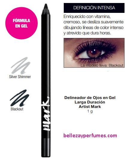 Delineador de Ojos en Gel Larga Duración Artist Mark