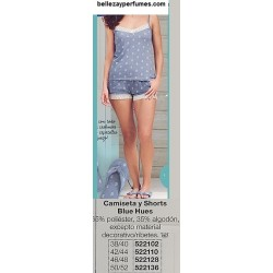 Camiseta y Shorts Blue Hues Avon