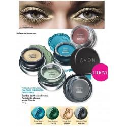 Sombra de ojos en crema resistente al agua Mega Effects Avon
