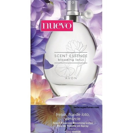 Scent Essence Blooming Lotus Eau de Toilette en Spray Avon