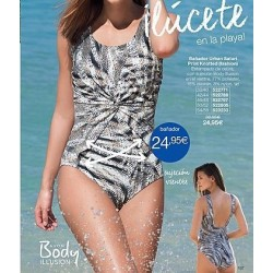 Bañador Urban Safari Print Knotted Avon fashion