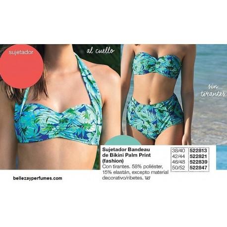 Sujetador Bandeau de bikini Palm print Avon fashion