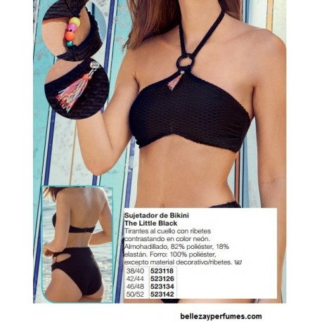 Sujetador de bikini The little Black Avon fashion