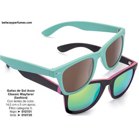 Gafas de Sol Classic Wayfarer Avon fashion