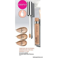Corrector Líquido acabado mate Avon Ideal Flawless