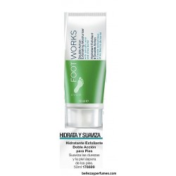 Hidratante exfoliante doble acción para pies Avon Foot Works