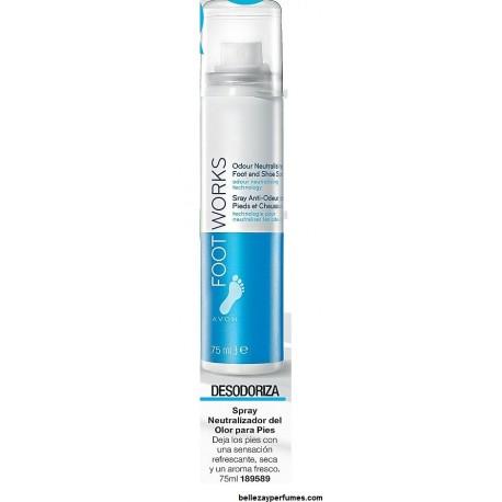 Spray neutralizador del olor para pies Avon Foot Works