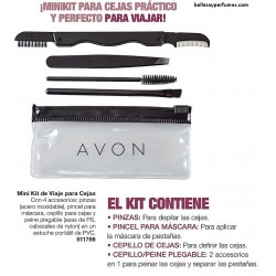 Mini kit de viaje para cejas Avon