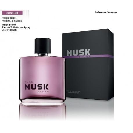 Musk Storm Eau de toilette en spray
