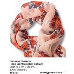 Pañuelo Cerrado Rose Lightweight fashion
