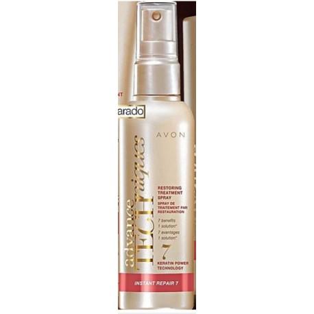 Tratamiento en spray con keratina líquida efecto reparador