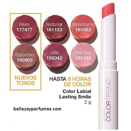 Color Labial Lasting Smile Avon Color Trend
