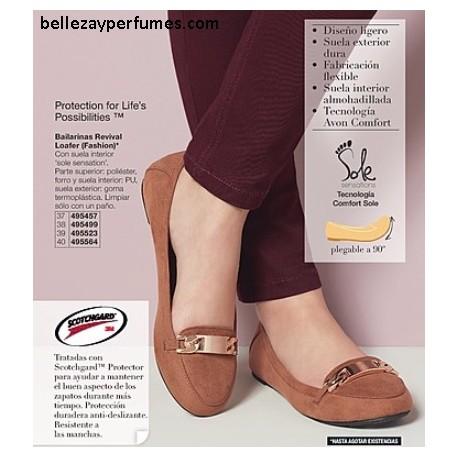 Bailarinas Revival Loafer Fashion