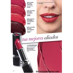Barra de labios Perfect Reds Avon True Colour