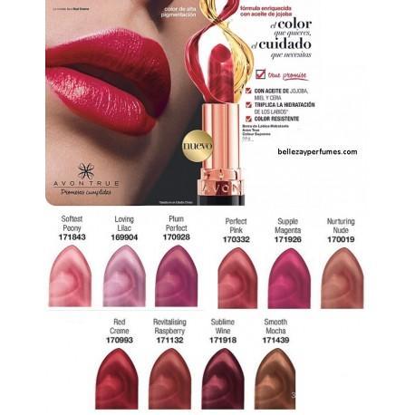 Barra de Labios hidratante Avon True Colour Supreme