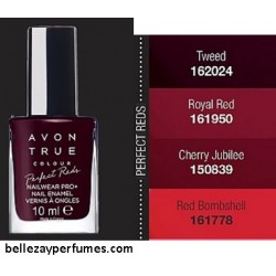 Esmalte de uñas Pro+ Perfect Reds Avon True Colour