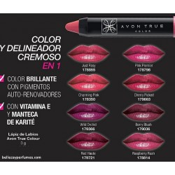 Lapiz de Labios Avon True Colour