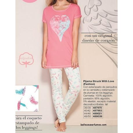 Pijama Struck With Love Fashion