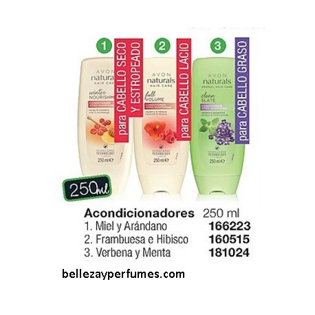 Acondicionadores Avon Naturals Hair Care 250ml