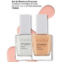 Set de manicura francesa Avon Nail Experts