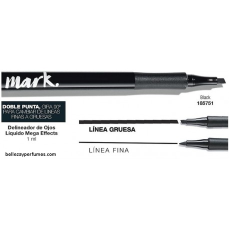 Delineador de ojos liquido Mega Effects Mark