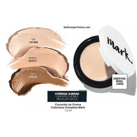 Corrector en crema cobertura completa Mark
