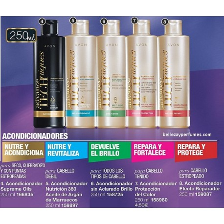 Acondicionador Advance Techniques 250ml