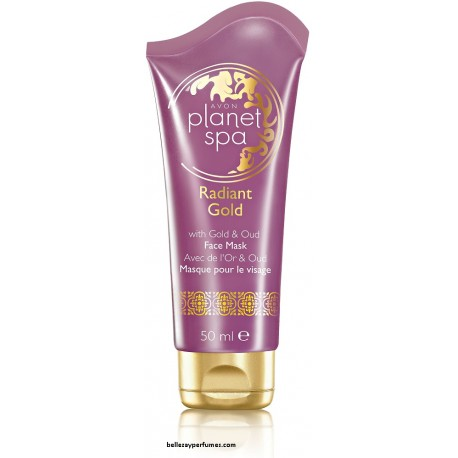 Mascarilla Facial Radiant Gold