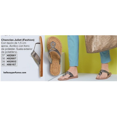 Chanclas Juliet Fashion