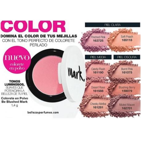 Colorete en polvo Be Blushed Mark