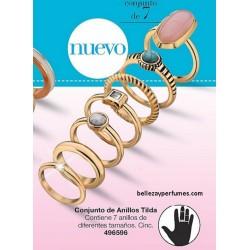 Conjunto de anillos Tilda