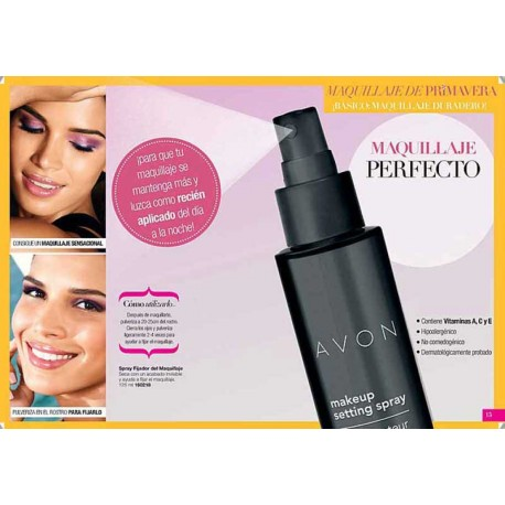 Spray Fijador del maquillaje Avon