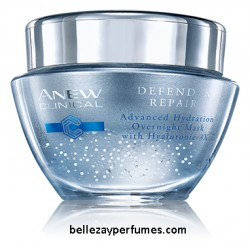 Mascarilla Hidratante de Noche Anew Clinical Defend & Repair