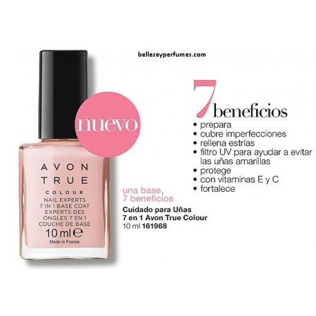 Cuidado para uñas 7 en 1 Avon True Colour
