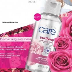 Tónico limpiador Agua de Rosa Avon Care