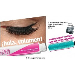 Máscara de pestañas Color Trend Hello! Ultimate Lashes