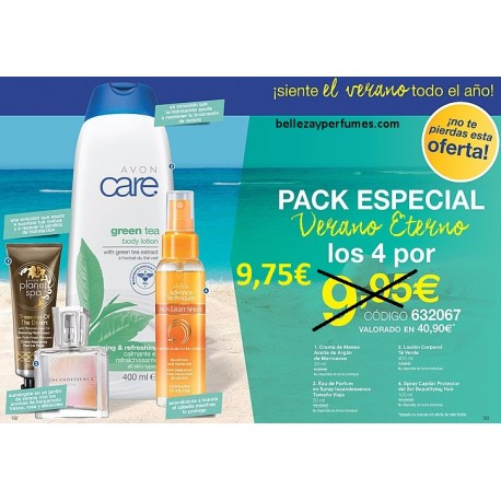 Pack Especial Verano Eterno