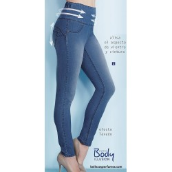 Jeggings Light Denim Efecto Lavado
