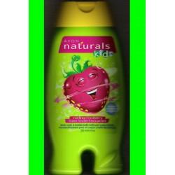 Gel de ducha y espuma de baño Fresa revoltosa Avon Naturals Kids