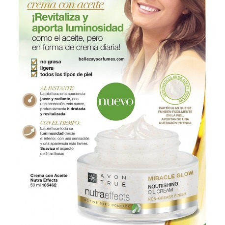 Crema con aceite Nutra Effects