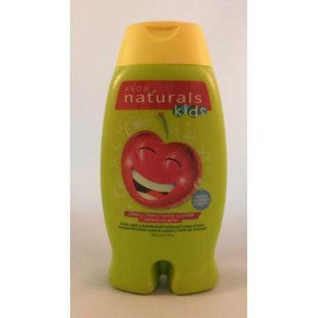 Gel de ducha Cereza Feliz Avon Naturals Kids