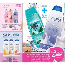 Duo Senses y Avon care