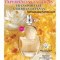 Velvet Amber Eau de Toilette Spray Scent Essence