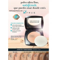 Polvos Compactos matificantes Flawless Avon True colour