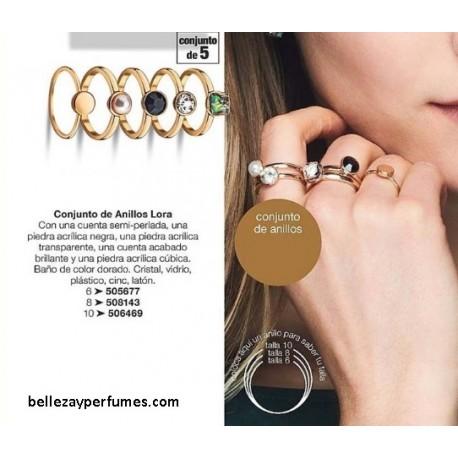 Conjunto de anillos Lora
