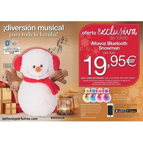 Altavoz Bluetooth Snowman