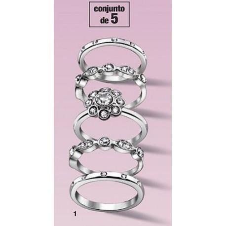 Conjunto de anillos Verina