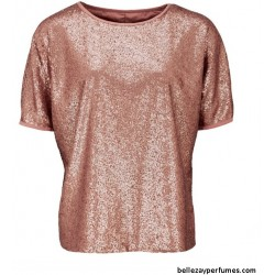 Camiseta Sequin Boxy