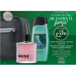 Amazon Jungle y Musk Storm Neceser