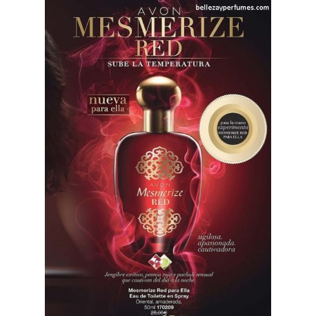 Mesmerize Red para ella Eau de toilette en spray